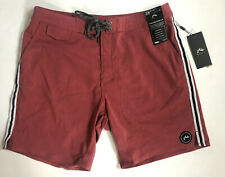 Rusty Men's Size 32 Red VINTAGE FLEX 2.0 Purity All Day Boardshort Surf Swim New
