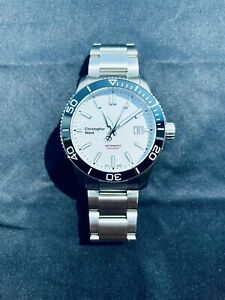EXCELLENT CHRISTOPHER WARD C60 TRIDENT PRO 600 42 mm AUTOMATIC SWISS DIVER WATCH