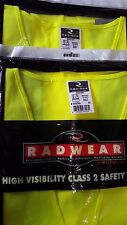 Lot of 3 Radians SV2ZGS Class 2 Solid Safety Vest with Zipper Yellow/Lime 2XL