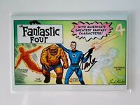 Fantastic Four # 1 Jack Kirby Gem Variant Signed by STAN LEE with COA 2018