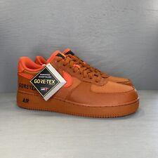 New Nike Air Force 1 Low GTX GORE-TEX Desert Team Orange Sz 12 Shoes CK2630-800