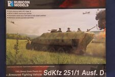 Rubicon Models 28mm 1/56 Scale World War 2 German SdKfz 251/1 Ausf D