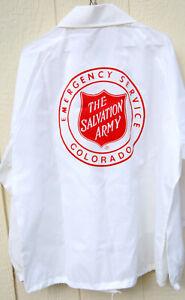 1980'S  COLORADO  SALVATION  ARMY  EMERGENCY  SERVICE  WINDBREAKER