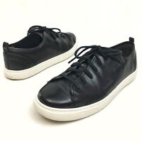 Cole Haan Grand.OS Women's Low Top Sneakers Black Leather Lace Up Sz 7B Athletic
