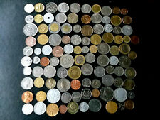 New Listingbulk mixed 103 world coins 20 -25 different countries