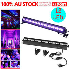 12LED UV BAR 36W ULTRAVIOLET LED'S DJ DISCO PARTY BLACKLIGHT EFFECT ULTRAVIOLET