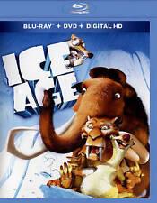 Ice Age (Blu-ray/DVD, 2015, 2-Disc Set)(NEW/SEALED)