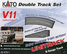 Kato N V11 UNITRACK Double Track Set 20-870-1