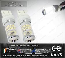 SMD LED W21/5W CanBus White DRL Daytime Running Lights For VW UP! Skoda Citigo