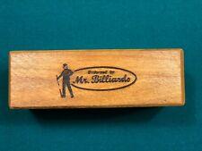 Mr. Billiards - Wood Cue Shaft Straightening Block