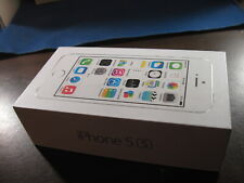 Apple  iPhone 5 S   silver    empty box only