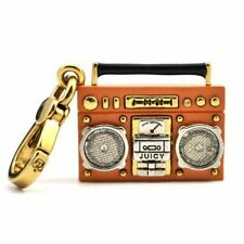 RARE Juicy Couture RETRO BOOMBOX RADIO Bracelet Necklace Charm