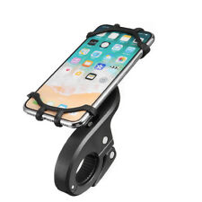 360°Rotation Motorcycle Bike MTB Handlebar Silicone Phone Mount Holder 15cmx10cm