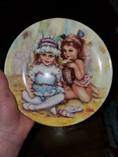 Rare 4 Norman Rockwell vintage plates
