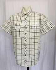 Nautica Jeans Co Pearl Snap Shirt Mens XL Short Sleeved