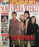 WINSOR HARMON HUNTER TYLO RONN MOSS K.K. LANG January 25, 2000 SOAP OPERA WEEKLY