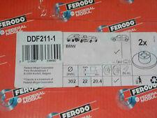 2x -Satz- Ferodo Bremsscheibe DDF211-1 BMW 5er E34 E32 7er E28