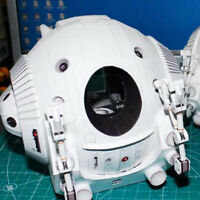3D DIY Paper Model Kit 2001 A Space Odissey One Man Space Capsule Pod