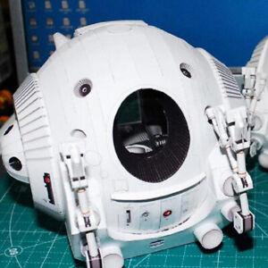 3D DIY Paper Model Kit 2001 A Space Odissey One Man Space Capsule  SEBDAU