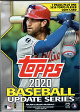 Topps Baseball Update Blaster Box with 7 Packs/14 Cards: 1 Coin Card - Multicoloured