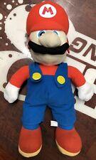 "RARE Plush 30"" Super Mario Bros Nintendo Kellytoy 2001 Large Jumbo Stuffed Toy"