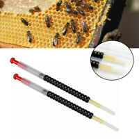 2Pcs Queen Bee Larvae Retractable Grafting Tool Beekeeping Rearing Supplies  .t2