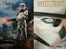 Two Posters Video Game Poster of STAR WARS BATTLE FRONT both sides feature image