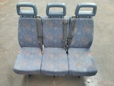 96 05 LDV CONVOY 400 MINIBUS SECOND ROW TRIPLE SEAT BLUE FABRIC REF FE82 #1589