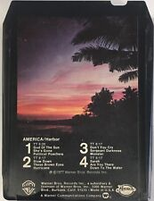 AMERICA Harbor 8 Track Tape 1977 Warner Bros