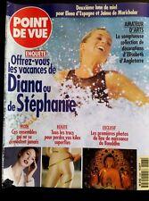 Point de Vue 20/3/1996; Les vacances de Diana et Stéphanie/ Bouddha/ Mode
