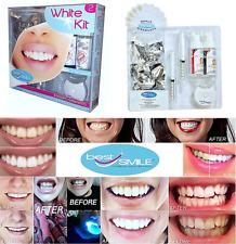 "WHITE KIT 2 ""Best Smile®"" sbiancamento Dentale Denti Cosmetico-efficacia10mn"