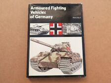 Armoured fighting vehicles of Germany: WWII (Profile Publications 1973)