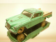 DINKY TOYS 169 STUDEBAKER GOLDEN HAWK - GREEN+CREAM 1:43 - GOOD CONDITION