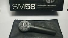 Shure SM58 Vocal Cardioid Dynamic Microphone