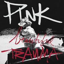 P!NK (PINK) Beautiful Trauma Iron On Transfer t-shirt embellish 15x15cms
