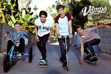 THE VAMPS BAND POSTER NEW ROLLED SEALED Brad James Connor Tristan