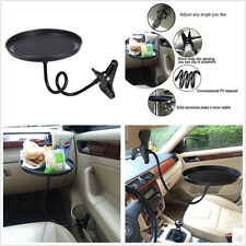 Car Eating Tray Travel Drink Cup Coffee Table Stand Food Tray Mount Holder Stand