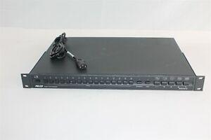 Pelco Genex MX4016CD 16 Channel Duplex Color Multiplexer NTSC/120VAC