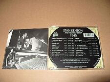 Stan Kenton And His Orchestra 1945 cd 1996 cd is in mint condition
