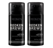 Redken BREWS Dishevel Fiber Cream 2 x 100ml Duo Pack All hair types RFM