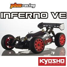 Kyosho Inferno VE Readyset 1/8 RC Electric 4wd 2.4Ghz RTR Buggy 34101T2