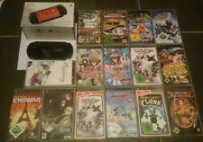SONY PSP 1004 Street plus 15 Spiele OVP - like new - Neuwertig