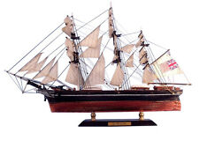 """Cutty Sark China Clipper Tall Ship 15"""" Built Wooden Model Boat Assembled"""