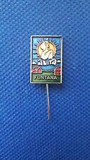 Pin ANITA FUNTANA  Nudist camp beach - CROATIA YUGOSLAVIA, nude woman men badge