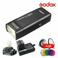 Godox AD200 2.4G TTL 1/8000s Dual Head Pocket Speedlite Camera Outdoor Flash