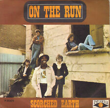 """SCORCHED EARTH - ON THE RUN + CAN YOU FEEL IT SINGLE 7"""" PROMO SPAIN 1974"""