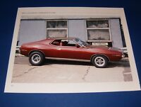 ★★1971 AMC JAVELIN SST 390 PHOTO/POSTER 71 72 70 AMX AMERICAN MOTORS★★