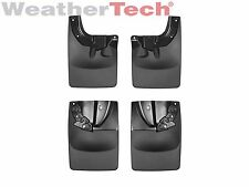 WeatherTech No-Drill MudFlaps for Toyota Tacoma - 2016 - Front & Rear Set