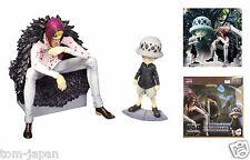 MegaHouse One Piece Figure Portrait Of Pirates POP Corazon & Law LIMITED EDITION