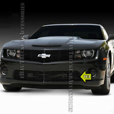 For 2010 2011 2012 2013 CHEVY Camaro SS V8 Black BUMPER Grille Grill OVERLAY 1PC